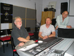 Clickable thumbnail image of SSL's Chris Jenkins with Steve Smith and Keith Coote
